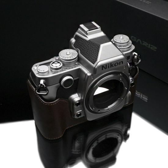 Gariz half leather case for Nikon Df camera 6