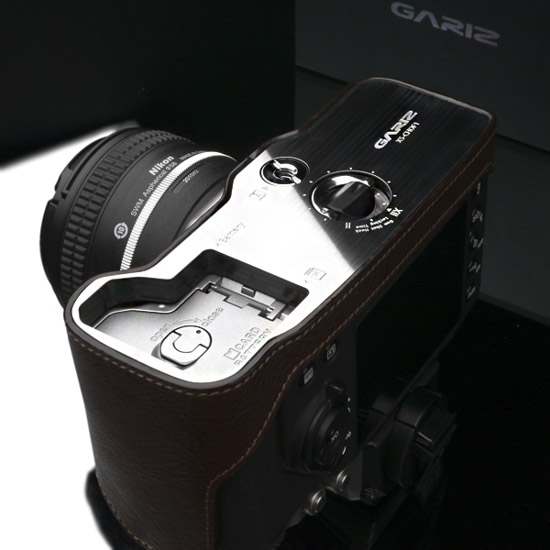 Gariz half leather case for Nikon Df camera 7