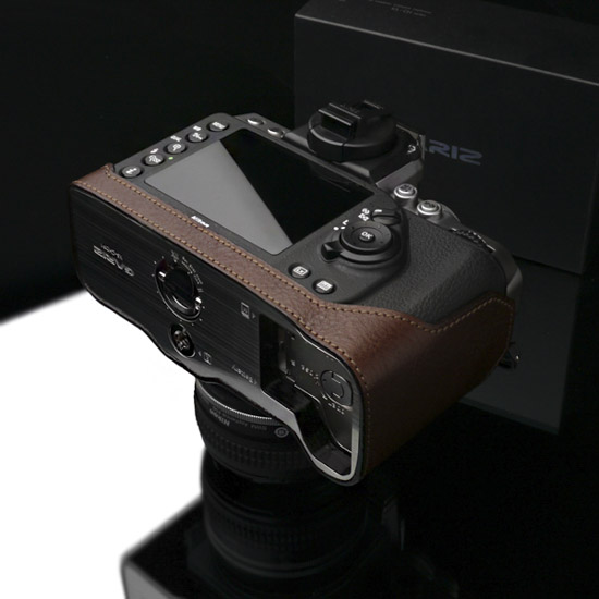 Gariz half leather case for Nikon Df camera 8