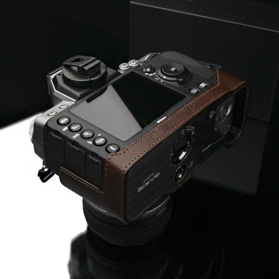 Gariz half leather case for Nikon Df camera 9