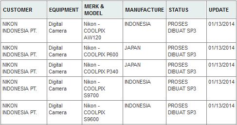 Nikon Coolpix AW120 P600 P340 S9700 S9600 cameras