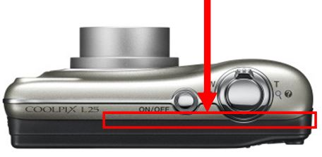 Nikon Coolpix L25 camera service advisory
