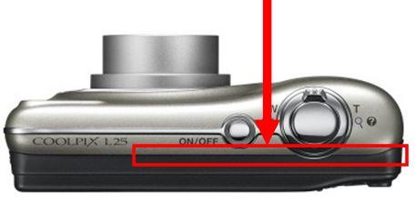 Nikon Coolpix L25 camera service advisory