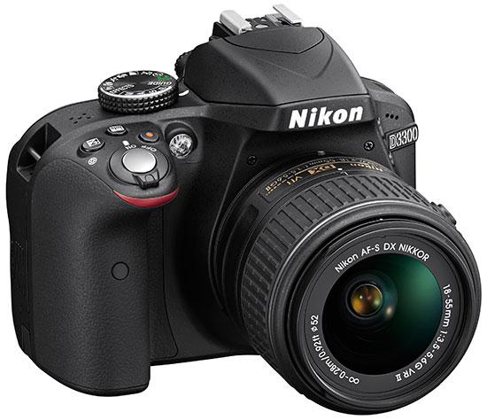 Nikon-D3300-DSLR-camera-black