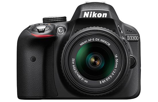 Nikon-D3300-front