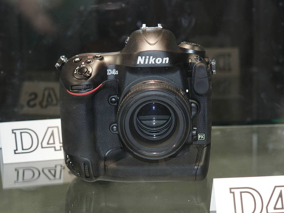 Nikon D4s will have the same memory cards slots (XQD + CF) - Nikon