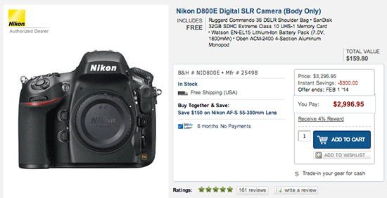 Nikon-D800E-instant-saving