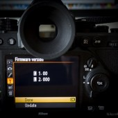 Nikon Df firmware update
