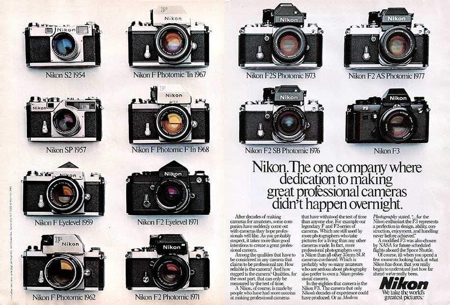 Nikon-timeline