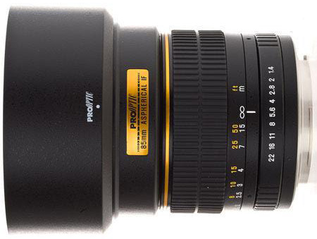 Pro-Optic-85mm-f1.4-lens-for-Nikon