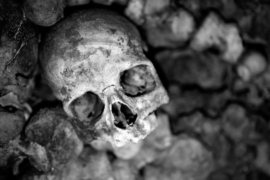Steven Hyatt Paris Catacombs 1