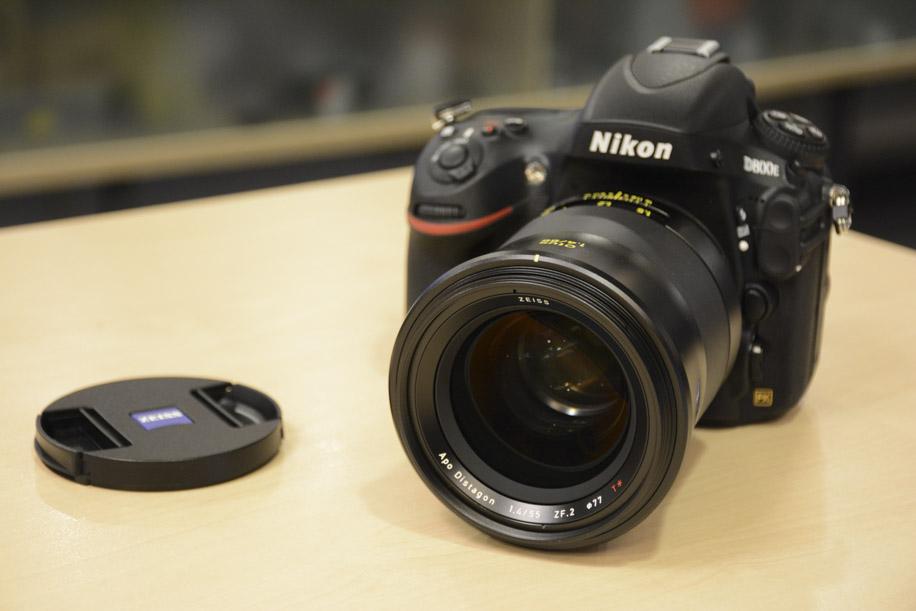 Zeiss OTUS 55mm f-1.4 APO Distagon T ZF.2 lens Nikon F mount 4