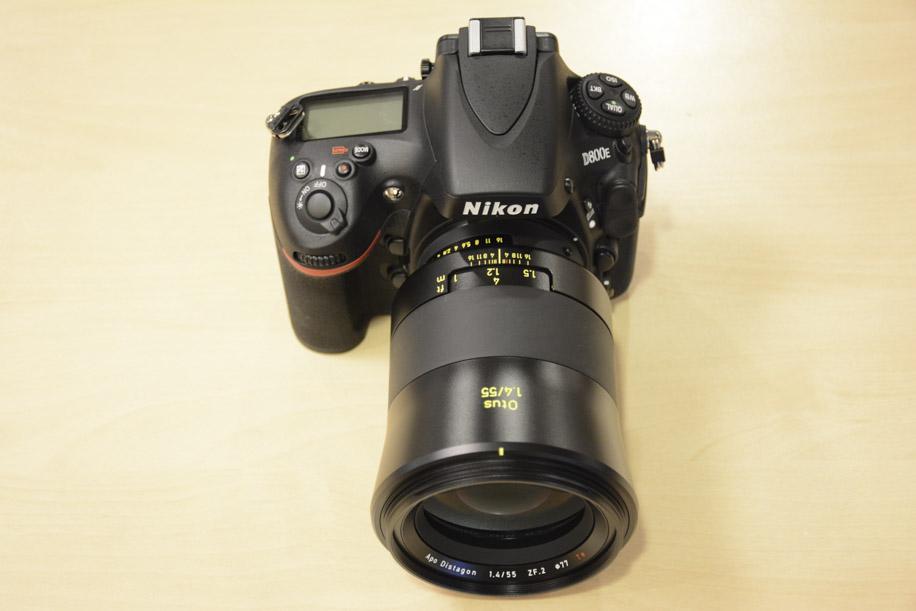 Zeiss OTUS 55mm f-1.4 APO Distagon T ZF.2 lens Nikon F mount 5