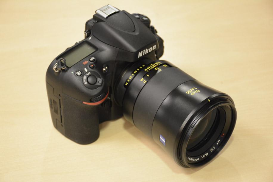Zeiss OTUS 55mm f-1.4 APO Distagon T ZF.2 lens Nikon F mount 7