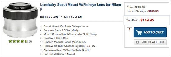 Lensbaby-Scout-lens-for-Nikon-sale