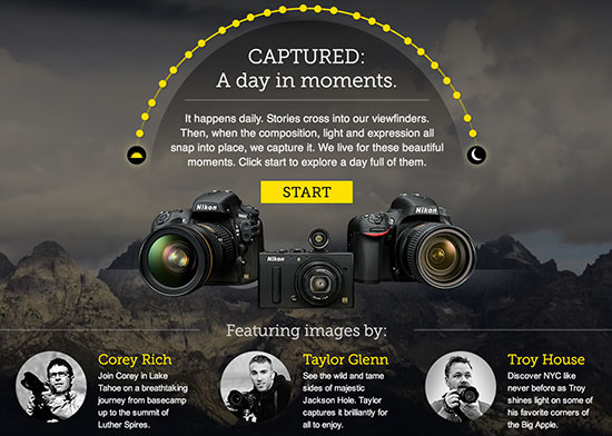 New-Nikon-Experience-website