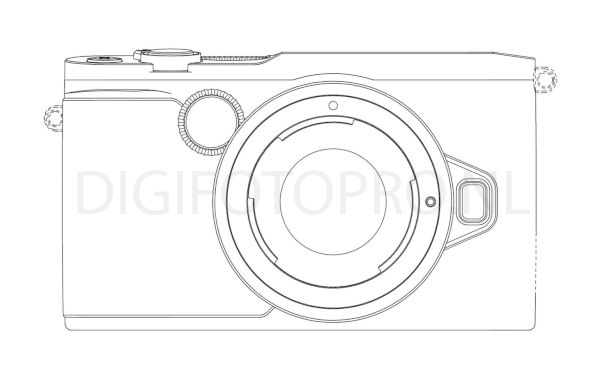 Nikon 1 mirrorless camera design patent 2
