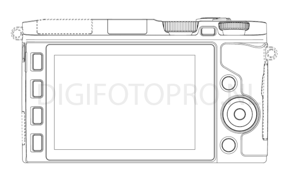 Nikon 1 mirrorless camera design patent 4