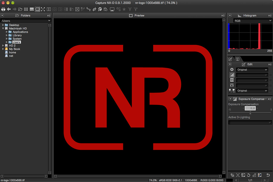 Nikon-Capture-NX-D-RAW-processing-software