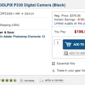 Nikon-Coolpix-P330-camera-sale