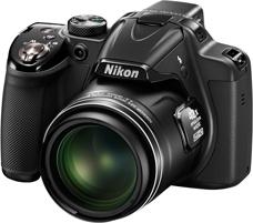 Nikon Coolpix P350 camera