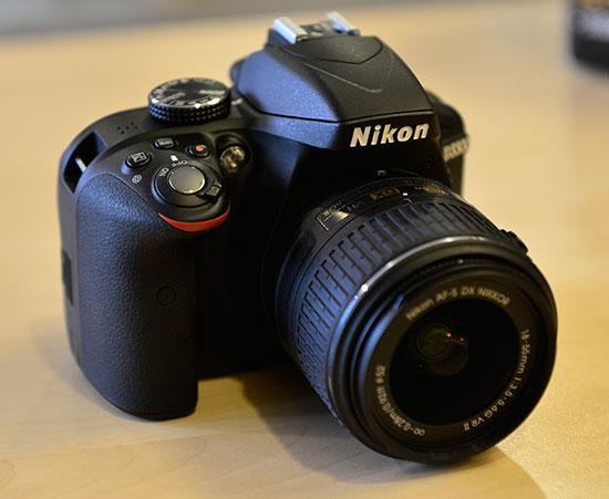 Nikon-D3300-DSLR-camera-front