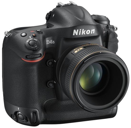 Nikon D4s DSLR camera 2