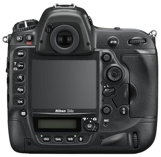 Nikon D4s DSLR camera 6