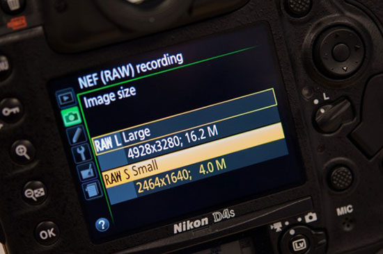 Nikon-D4s-RAW-S-small-file-format