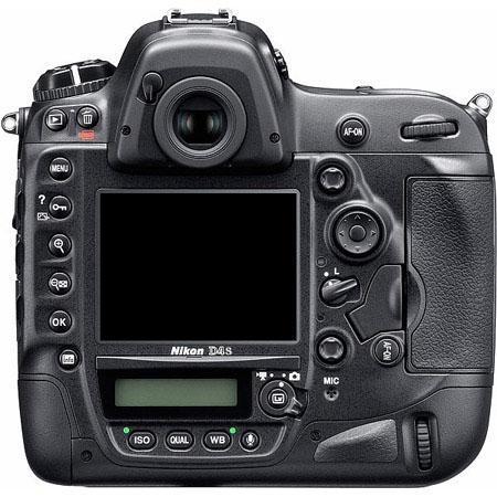 Nikon D4s back