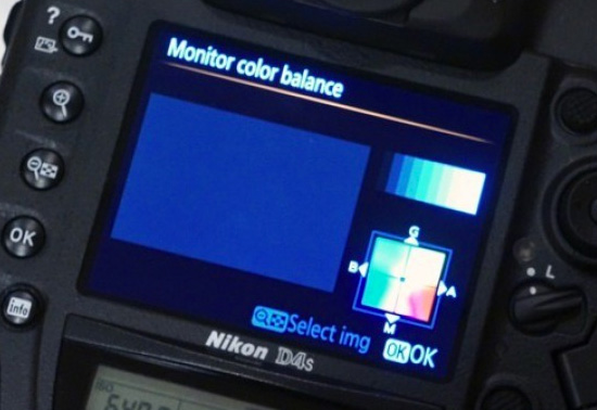 Nikon-D4s-monitor-color-balance