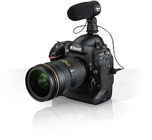 Nikon D4s video rig