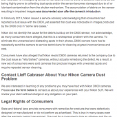 Nikon-D600-dust-issue-class-action-lawsuit