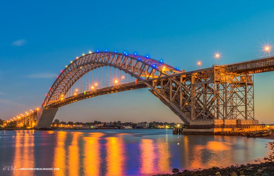 Blue Hour Bayonne Bridge