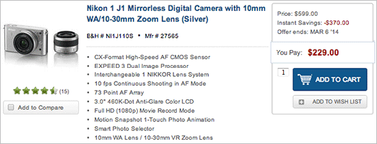 Nikon-1-J1-lens-kit-sale