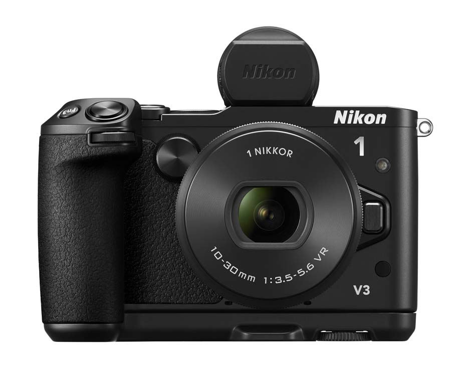 nikon 1 v3 mirrorless camera officially announced nikon
