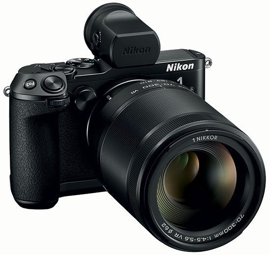 Nikon-1-V3-with-Nikkor-70-300mm-f4.5-5.6-VR-lens