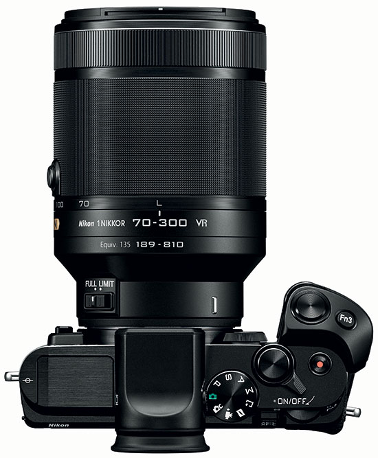 Nikon 1 Nikkor 70 300mm F 45 56 VR Lens Announced