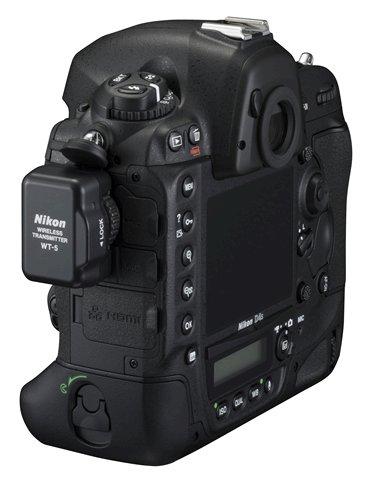 Nikon D4s with WT-5 wireless transmitter