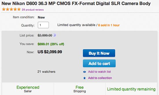 Nikon-D800-camera-deal