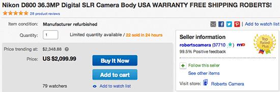 Nikon-D800-deal