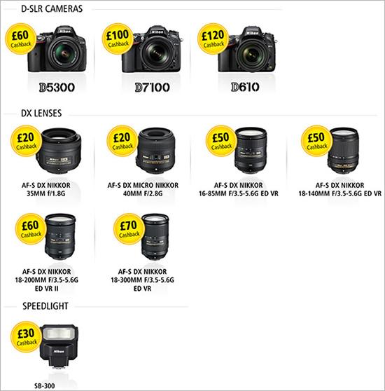 Nikon-UK-cashback-offer