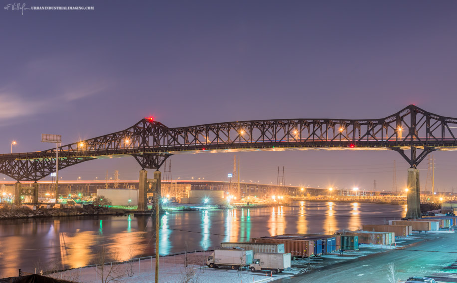 Pulaski Skyway @ Night
