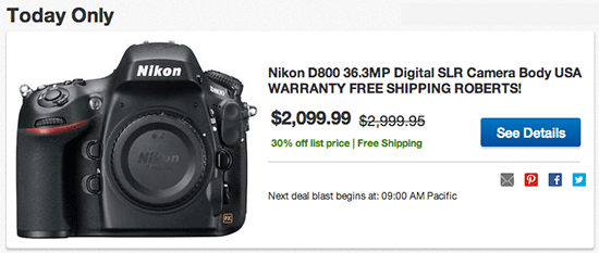 Refurbished-Nikon-D800-deal