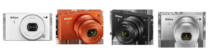 Nikon 1 J4 colors