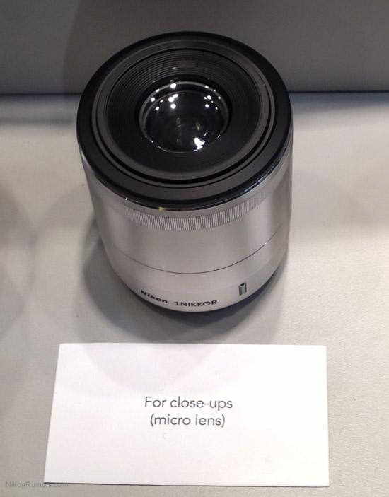 Nikon 1 macro lens