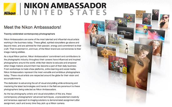 Nikon-USA-brand-ambassadors