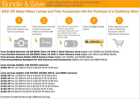 Nikon-budnle-and-save-deal-at-Amazon