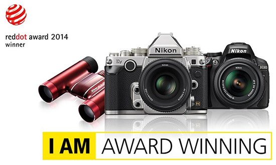 Nikon-received-2014-Reddot-award-for-product-design