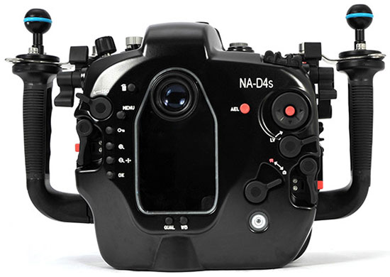 Nauticam announced NA-D4S underwater housing for the Nikon D4s camera